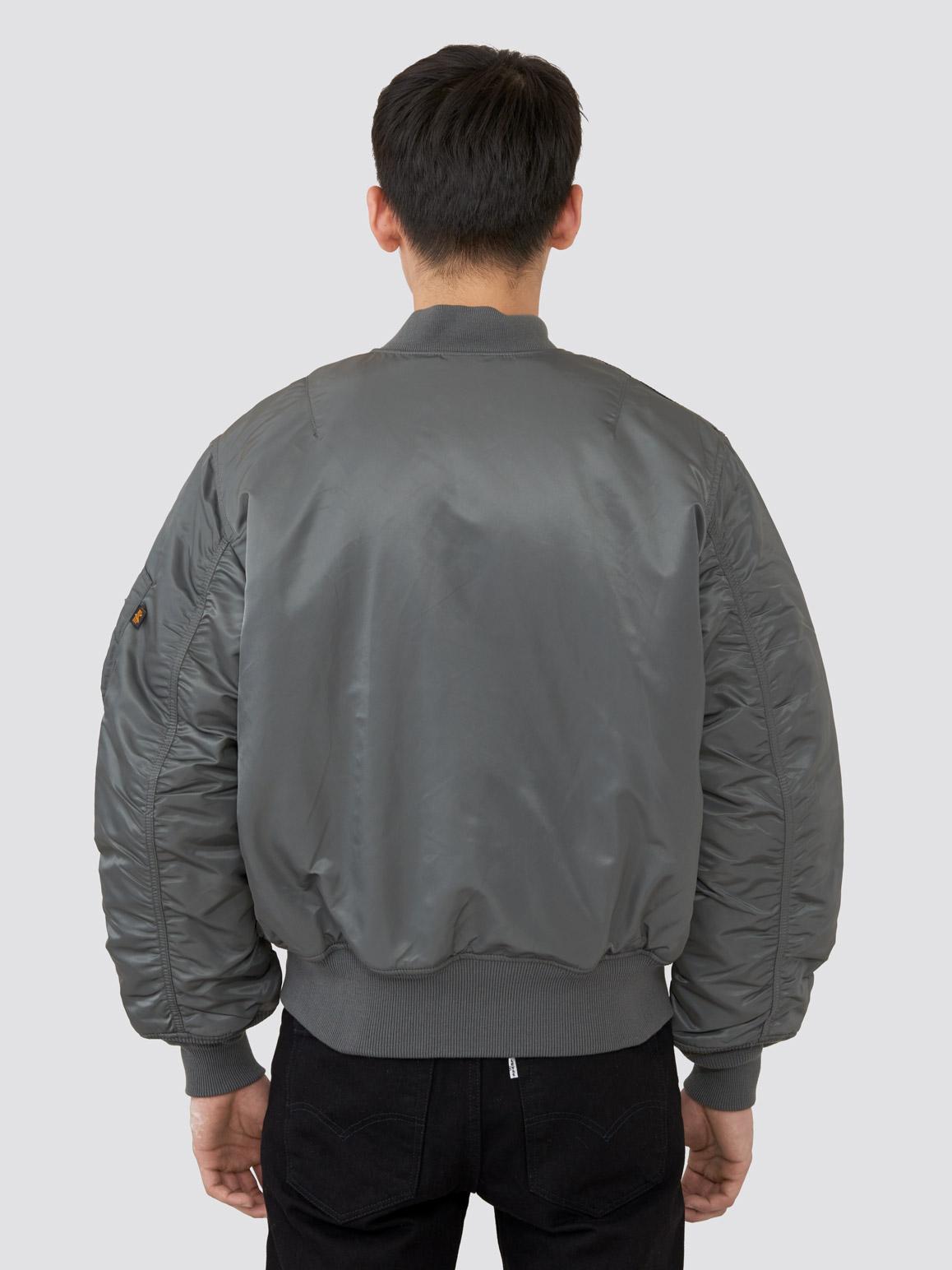 Куртка мужские Alpha Industries модель MJM21000C1_gun_metal приобрести, 2017