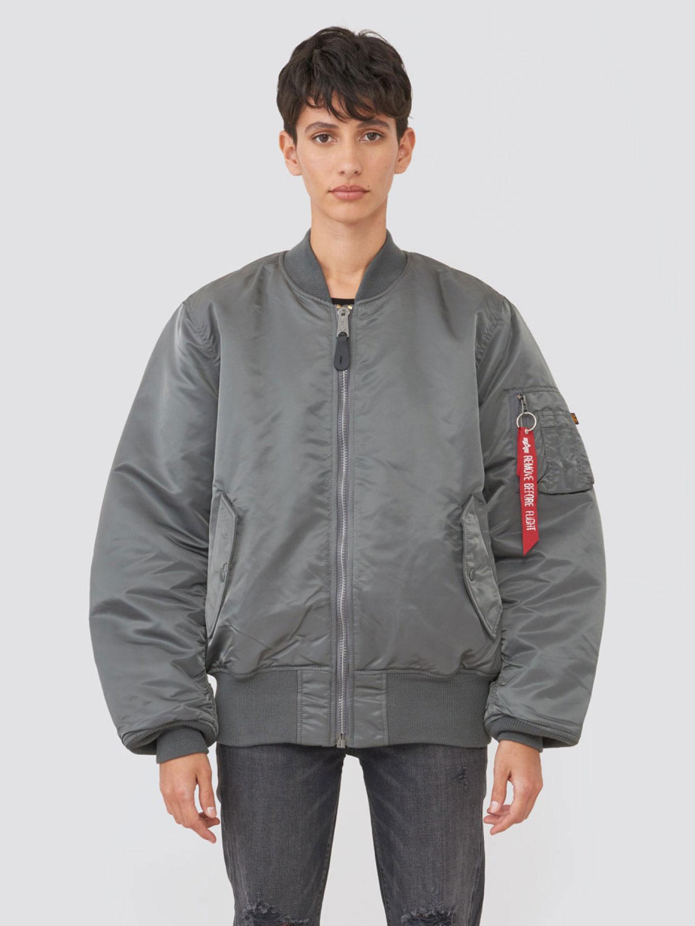 Куртка мужские Alpha Industries модель MJM21000C1_gun_metal купить, 2017