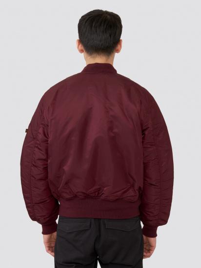 Куртка Alpha Industries модель MJM21000C1_maroon — фото 2 - INTERTOP