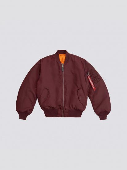 Куртка Alpha Industries модель MJM21000C1_maroon — фото 5 - INTERTOP
