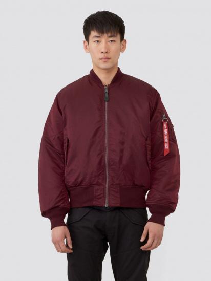 Куртка Alpha Industries модель MJM21000C1_maroon — фото - INTERTOP