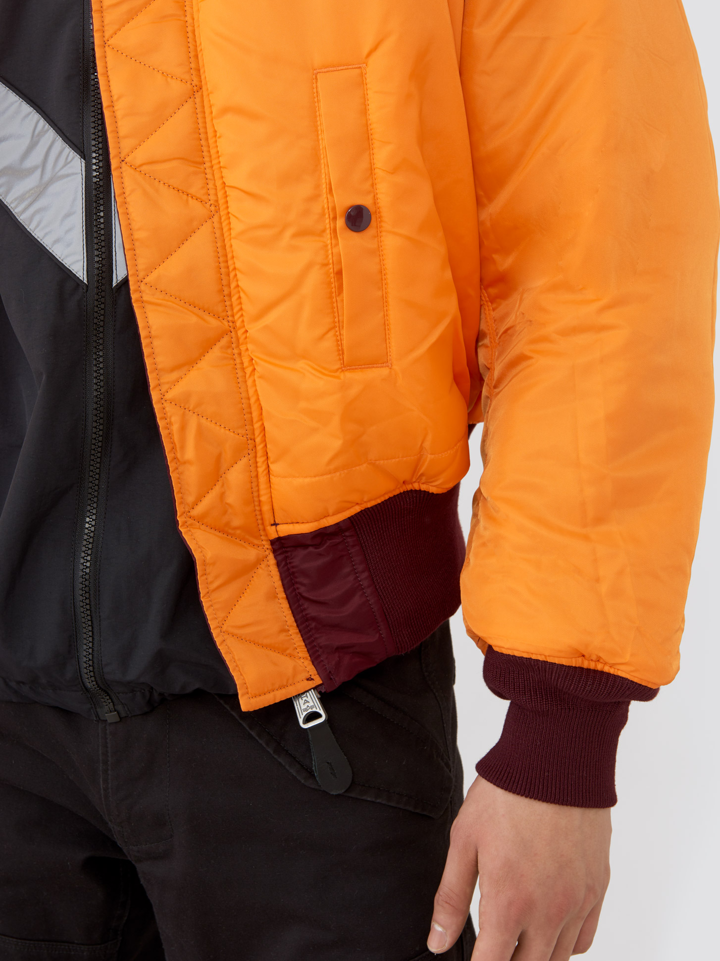 Куртка мужские Alpha Industries модель MJM21000C1_maroon цена, 2017