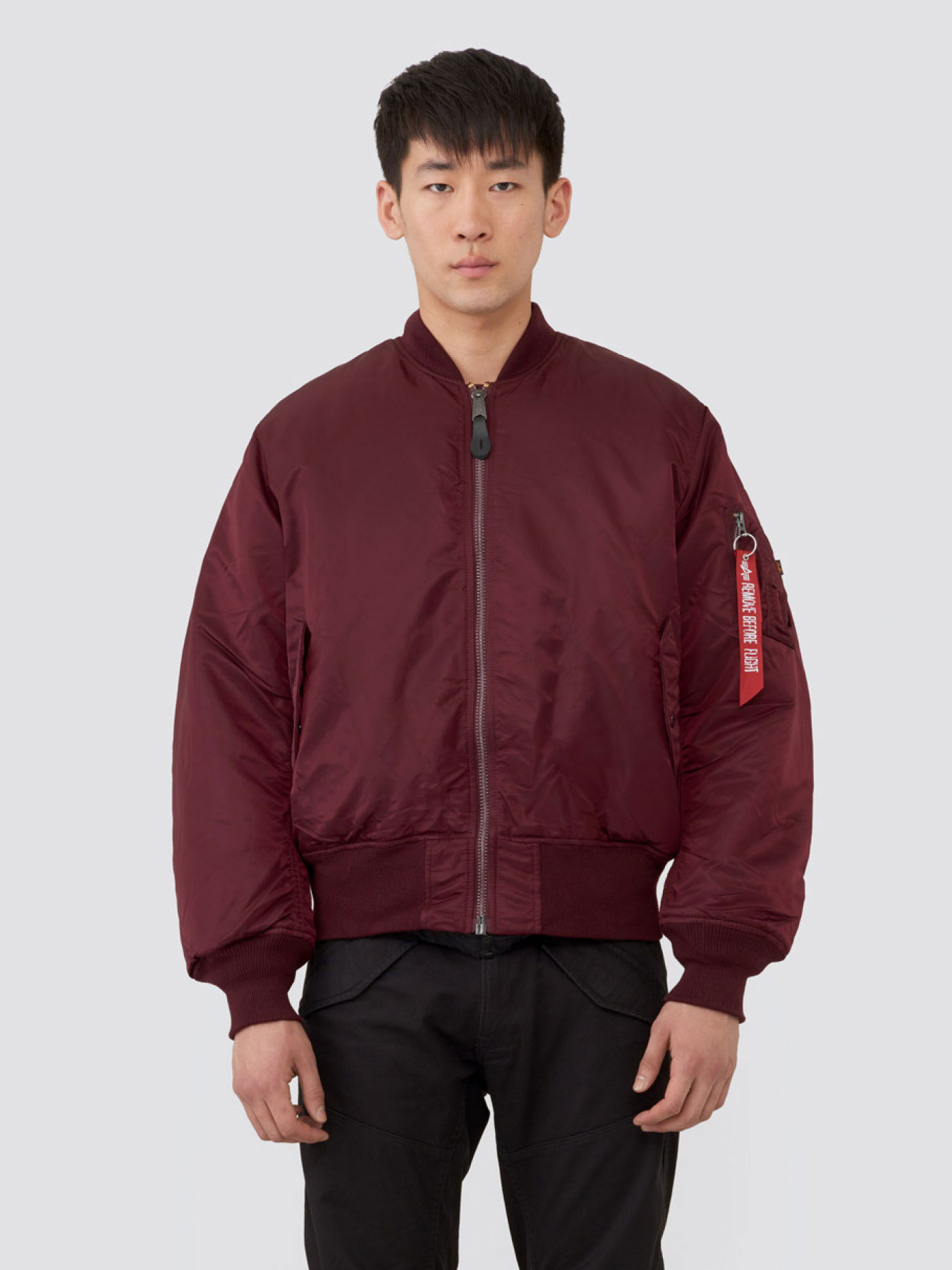 Куртка мужские Alpha Industries модель MJM21000C1_maroon приобрести, 2017
