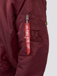 Куртка мужские Alpha Industries модель MJM21000C1_maroon купить, 2017