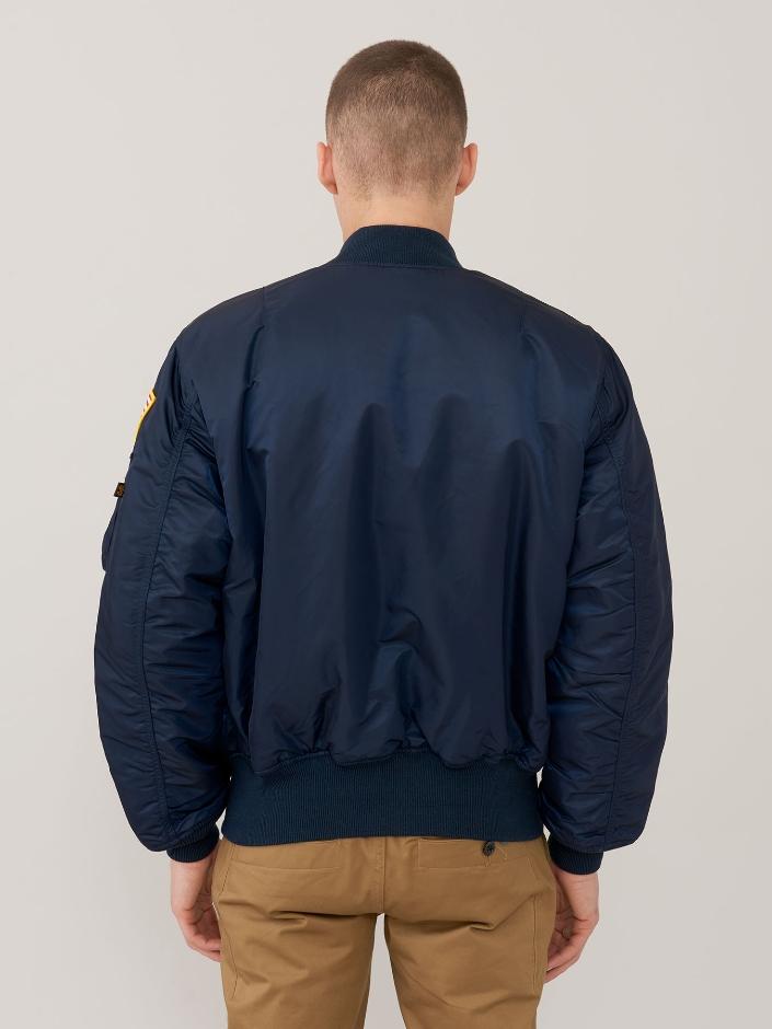 Куртка мужские Alpha Industries модель MJM21093C1_Rep_Blue купить, 2017