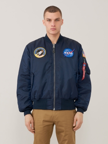 Куртка Alpha Industries модель MJM21093C1_Rep_Blue — фото - INTERTOP