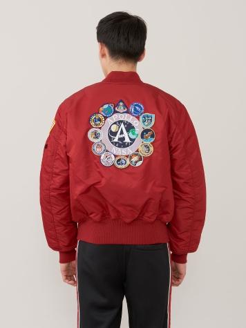 Куртка мужские Alpha Industries модель MJM21097C1_commander_red отзывы, 2017