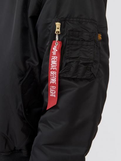 Куртка Alpha Industries модель MJM21300C1_black — фото 3 - INTERTOP