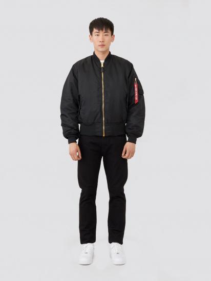 Куртка Alpha Industries модель MJM21300C1_black — фото 4 - INTERTOP
