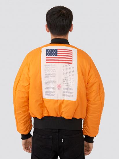 Куртка Alpha Industries модель MJM21300C1_black — фото 6 - INTERTOP