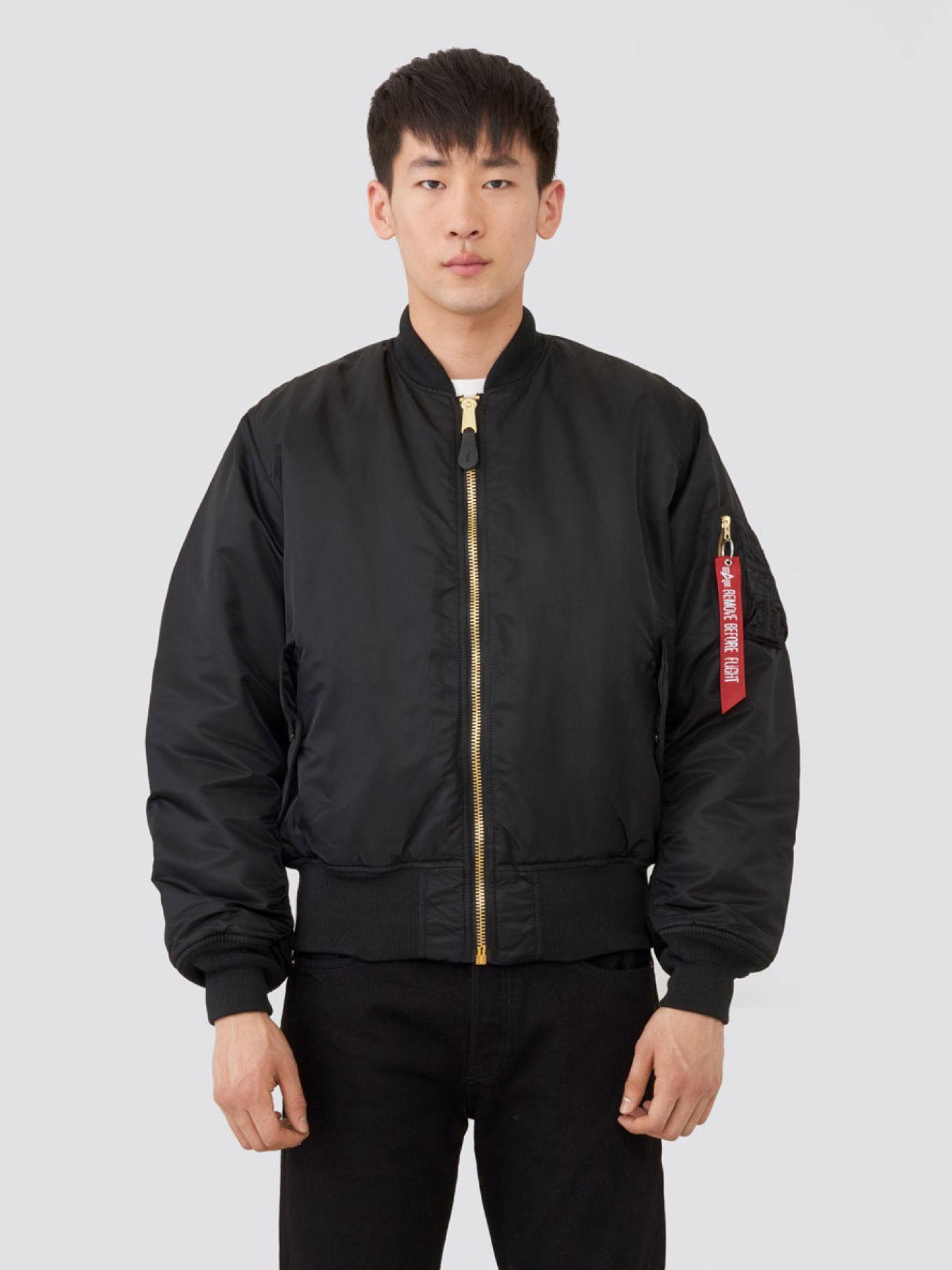 Купить Куртка мужские модель MJM21300C1_black, Alpha Industries, Черный