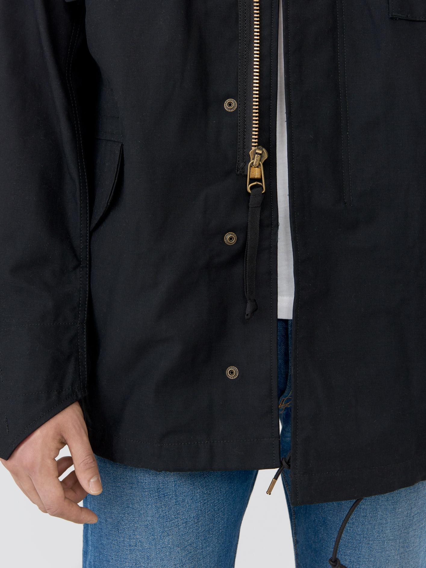 Куртка мужские Alpha Industries модель MJM24000C1_black , 2017