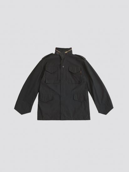Куртка Alpha Industries модель MJM24000C1_black — фото 4 - INTERTOP