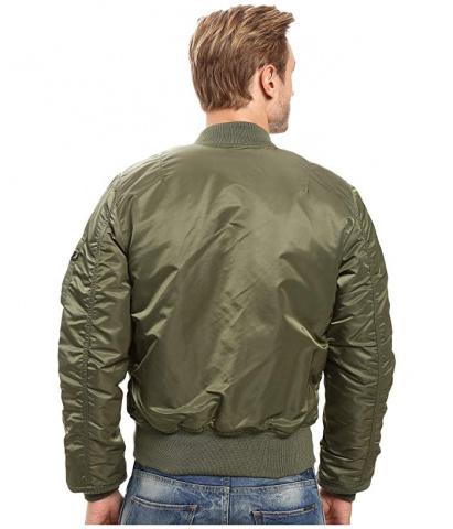 Легка куртка Alpha Industries модель MJM44530C1_sage_green — фото 2 - INTERTOP