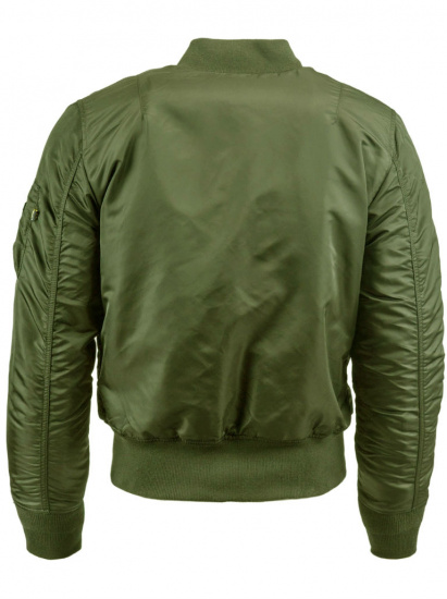 Легка куртка Alpha Industries модель MJM44530C1_sage_green — фото 3 - INTERTOP