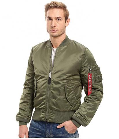 Легка куртка Alpha Industries модель MJM44530C1_sage_green — фото - INTERTOP