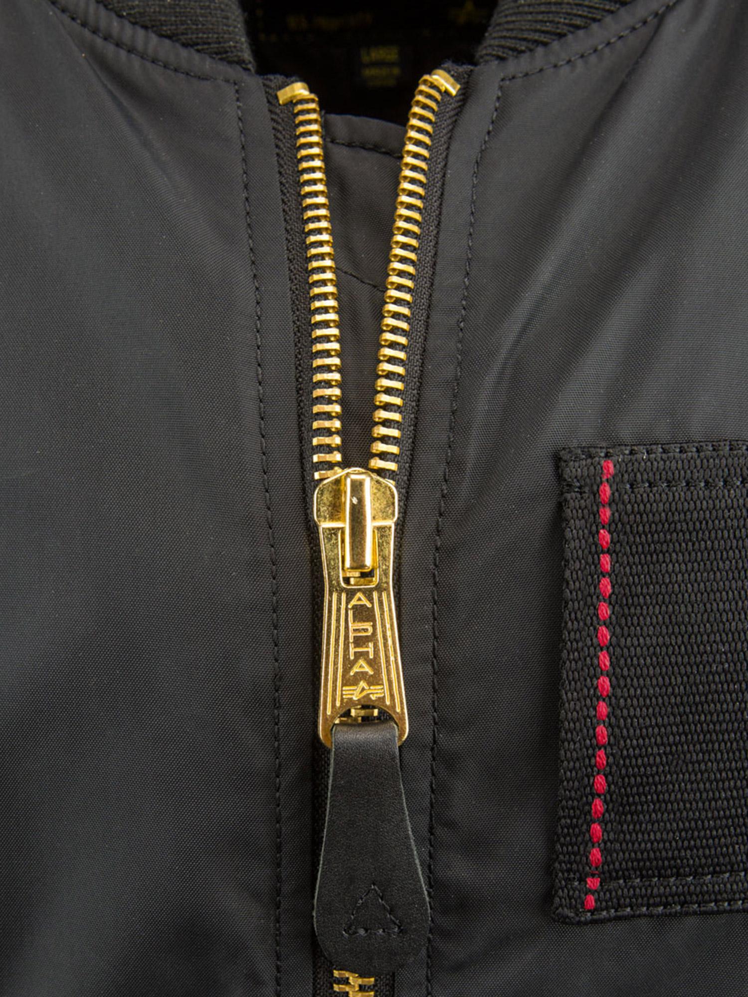 Куртка мужские Alpha Industries модель MJM45510C1_black , 2017