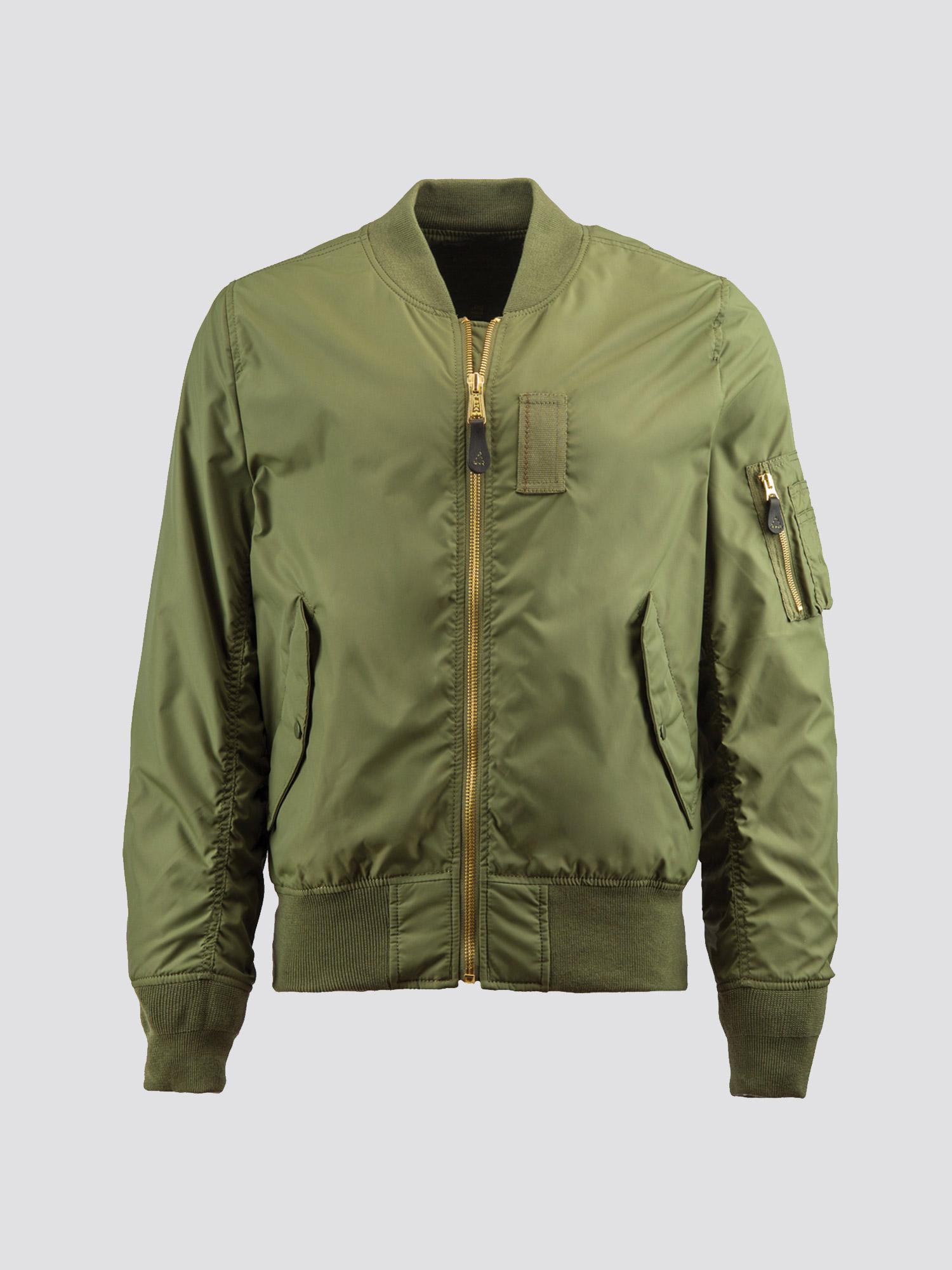 Куртка мужские Alpha Industries модель MJM45510C1_sage , 2017