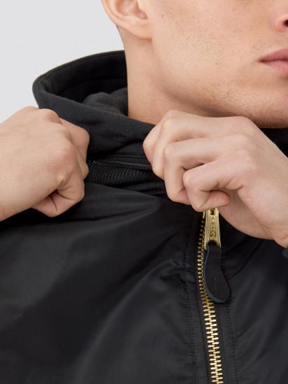 Куртка Alpha Industries модель MJM47506C1_black — фото 3 - INTERTOP