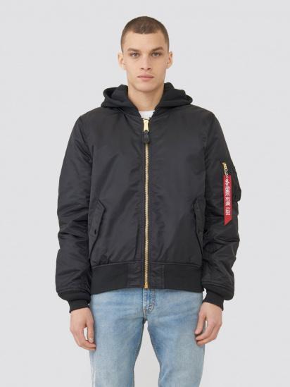 Куртка Alpha Industries модель MJM47506C1_black — фото - INTERTOP