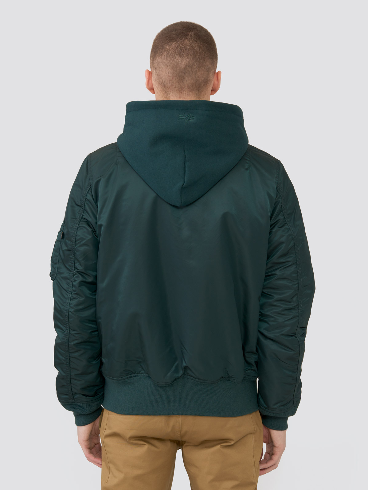 Куртка мужские Alpha Industries модель MJM47506C1_patrol_green отзывы, 2017