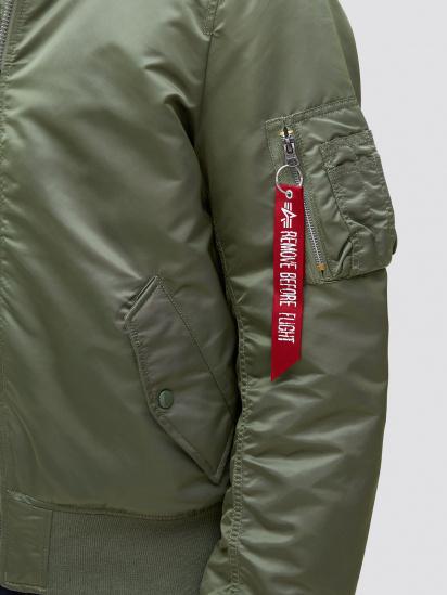 Легка куртка Alpha Industries модель MJM47506C1_sage — фото 4 - INTERTOP
