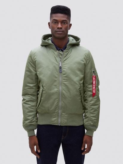 Легка куртка Alpha Industries модель MJM47506C1_sage — фото - INTERTOP
