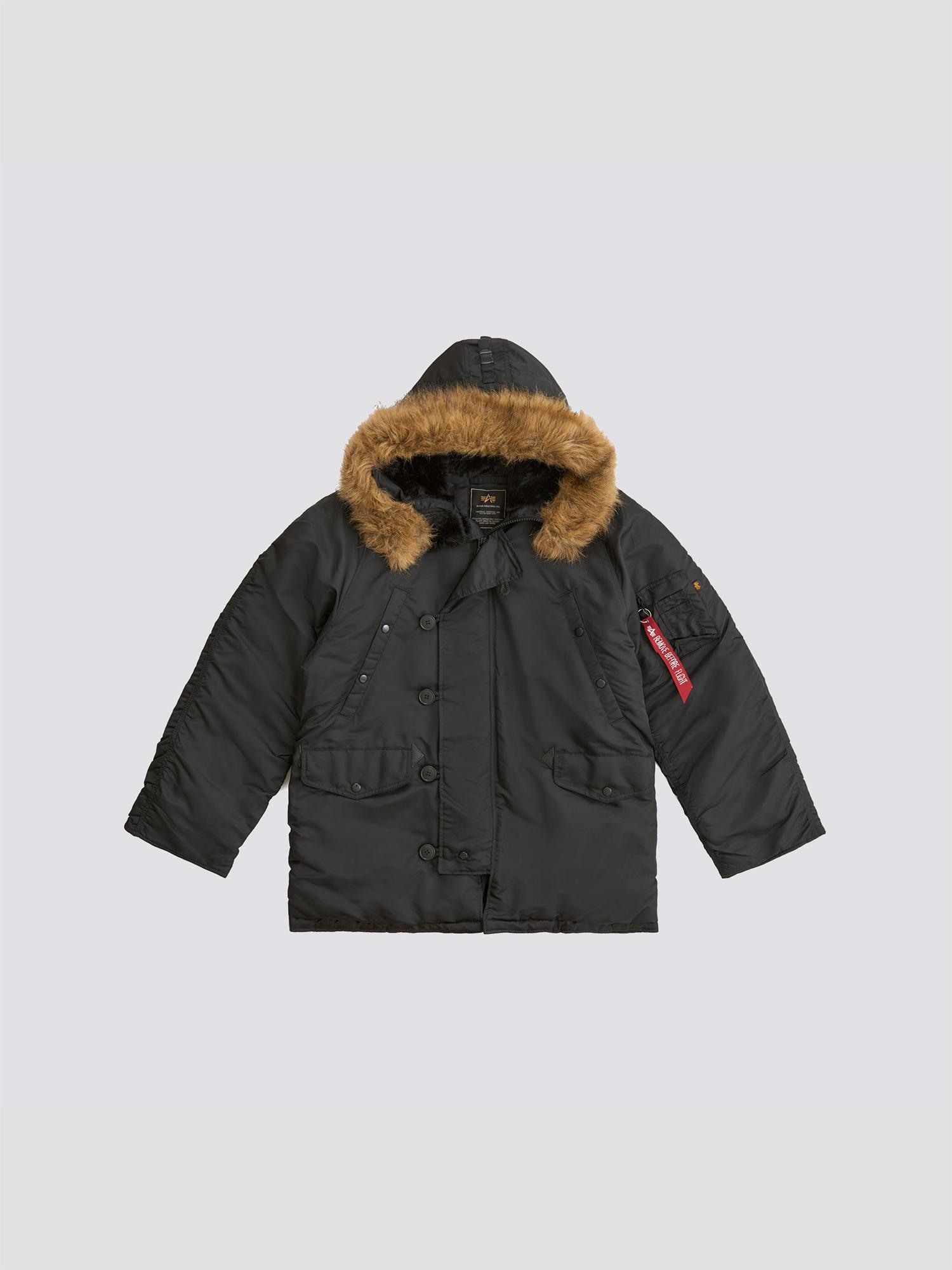 Куртка мужские Alpha Industries модель MJN31000C1_black купить, 2017