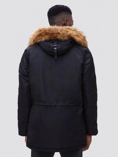 Куртка Alpha Industries модель MJN31210C1_black — фото 3 - INTERTOP