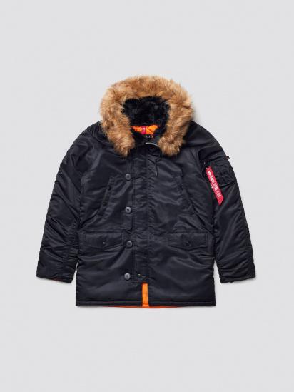 Куртка Alpha Industries модель MJN31210C1_black — фото 5 - INTERTOP