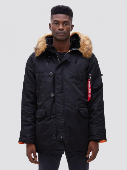 Куртка Alpha Industries модель MJN31210C1_black — фото - INTERTOP