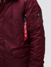 Куртка мужские Alpha Industries модель MJN31210C1_maroon купить, 2017