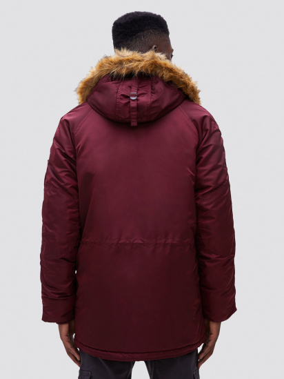 Куртка мужские Alpha Industries модель MJN31210C1_maroon цена, 2017