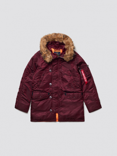 Куртка мужские Alpha Industries модель MJN31210C1_maroon приобрести, 2017
