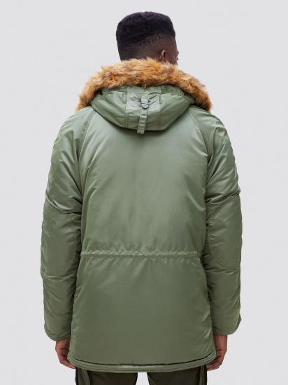 Куртка Alpha Industries модель MJN31210C1_sage — фото 2 - INTERTOP