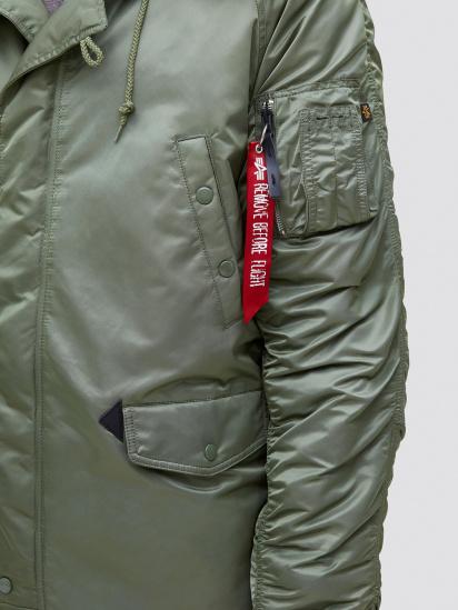 Куртка Alpha Industries модель MJN31210C1_sage — фото 4 - INTERTOP