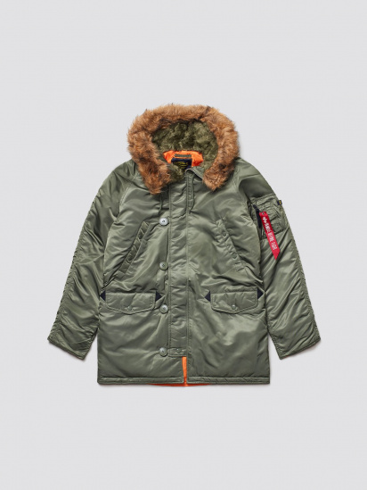 Куртка Alpha Industries модель MJN31210C1_sage — фото 5 - INTERTOP