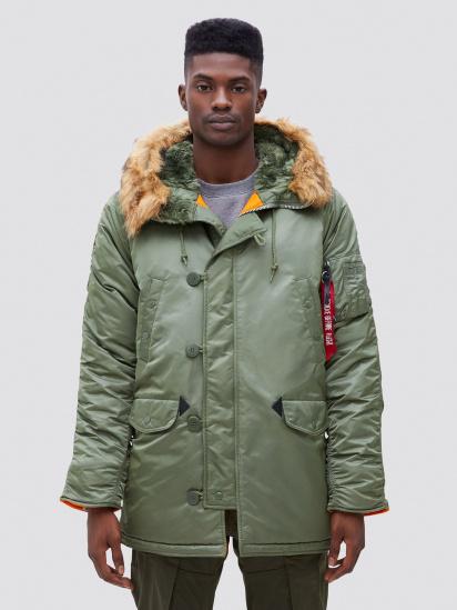 Куртка Alpha Industries модель MJN31210C1_sage — фото - INTERTOP