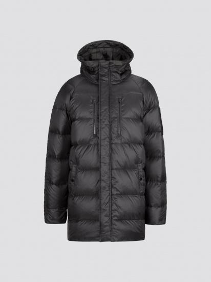 Пальто пухове Alpha Industries модель MJN48503C1_black_camo — фото 2 - INTERTOP
