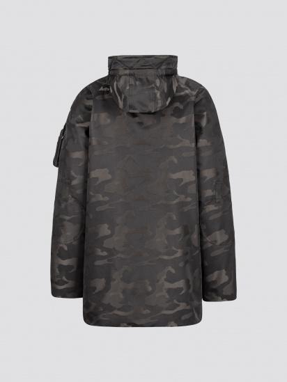 Пальто пухове Alpha Industries модель MJN48503C1_black_camo — фото 3 - INTERTOP