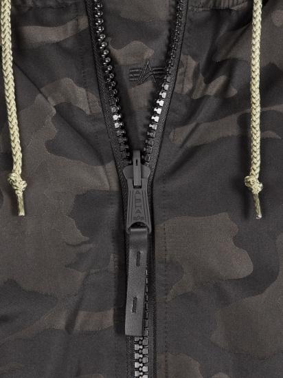 Пальто пухове Alpha Industries модель MJN48503C1_black_camo — фото 4 - INTERTOP