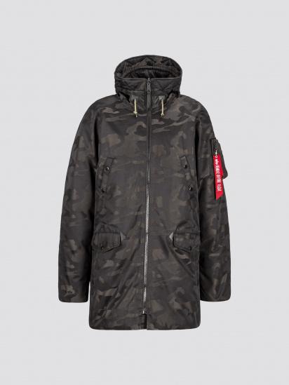 Пальто пухове Alpha Industries модель MJN48503C1_black_camo — фото - INTERTOP