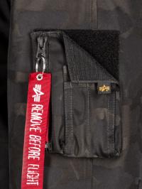 Alpha Industries Куртка пухова чоловічі модель MJN48503C1_black_camo , 2017