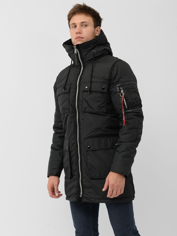 Куртка мужские Alpha Industries модель MJN48505C1_black приобрести, 2017
