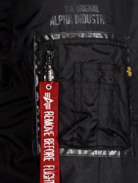 Куртка мужские Alpha Industries модель MJN48505C1_black цена, 2017