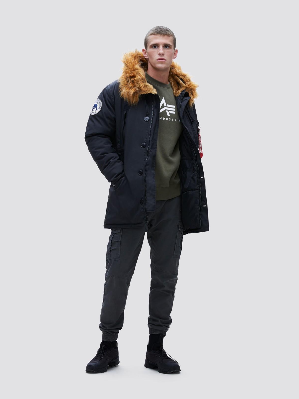 Куртка мужские Alpha Industries модель MJN49503C1_black приобрести, 2017