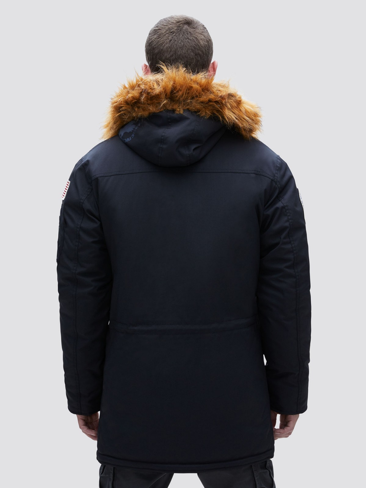 Куртка мужские Alpha Industries модель MJN49503C1_black , 2017