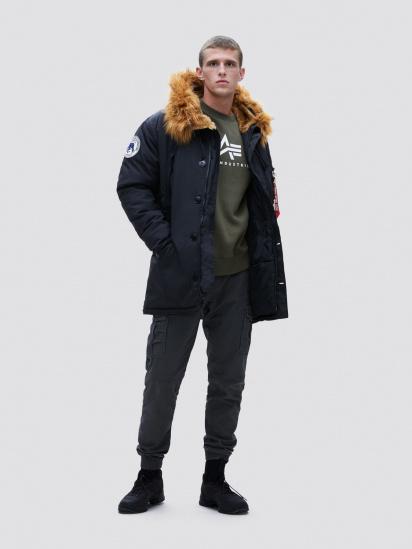 Куртка Alpha Industries модель MJN49503C1_black — фото 2 - INTERTOP