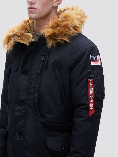 Куртка Alpha Industries модель MJN49503C1_black — фото 4 - INTERTOP