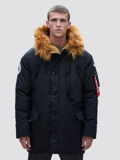Куртка Alpha Industries модель MJN49503C1_black — фото - INTERTOP